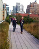 Hiking the High Line